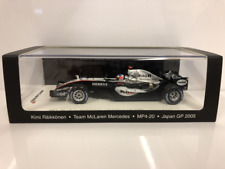 Kimi Raikkonen McLaren Mercedes MP4-20 Japan 2005 Spark 1:43