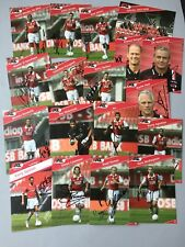 AZ ALKMAAR 2007/08 In-person 17 original signierte Autogrammkarten 10x15 Fußball