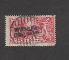 Great Britain SC180 George V Sea horses 1919 Used