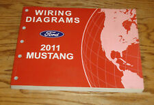 Original 2011 Ford Mustang Wiring Diagrams Manual 11