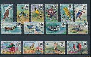 LO44484 Lesotho animals fauna flora birds fine lot MNH