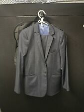 Boys Age 12 Marks And Spencer Pinstriped Suit autograph