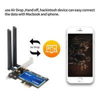 Hackintosh mac OS HB1200 wifi card 2.4/5G 1200Mbps Bluetooth 4.0 Network adapter