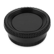 Black Plastic Camera Body Cover + Rear Lens Cap for Nikon Digital SLR J2C4