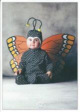 Carte postale Bébé Papillon