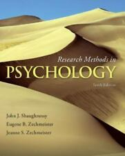 Research Methods in Psychology 10e Global Edition