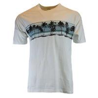 Mens Tee T Shirt L XL XXL Hawaiian Aloha Surf Bahama Beach Graphic 100% Cotton