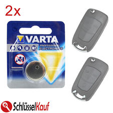 2x Varta Batteria Auto Chiave per Opel Astra H Corsa D Signum Vectra Zafira