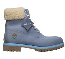 Timberland Just Don Boots Size 6.5 Jean Blue Fur
