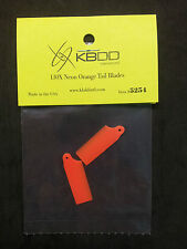 KBDD Blade 130 x Neon Orange Tail Rotor Blade #5254, 130x