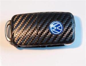 VW Golf GTI Polo 6 5 VI V R32 Carbon style Key sticker with side LED
