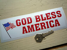 """Dio Benedica America Adesivo 8 """"Classic American AUTO PICK-UP Retrò 60s AMERICANA USA"""