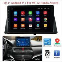 "For Honda Accord 08-12 10.1"" Screen Android 9.1 Radio GPS WIFI Quad Core MA2351"