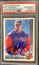 Roy Halladay Signed 1998 Grandstand Sky Chiefs PSA/DNA Auto 6 Card Autograph HOF