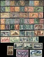 50 Early France RF Stamps Postage Collection USED MINT Scott #
