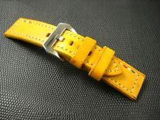 For Panerai watch strap genuine leather 26/24mm Vintage-Used in mint condition