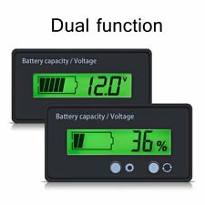 12V-48V Battery Capacity Voltage Tester LCD Display Lead-acid Monitor Indicator