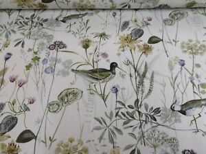 Wetlands Bird Sage Prestigious Textiles  140cm wide Curtain/Craft Fabric