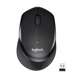 Logitech M330 Silent Plus Mouse Ergonomic 10M 2.4GHz For PC Laptop Mac Wireless