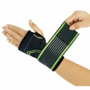 Fitness Yoga Wrist Palm Support High Elastic Bandage Gym Gloves Palm Protector