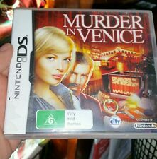 Murder in Venice Nintendo DS  (NDS) - FREE POST