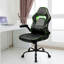 Merax Executive Office Racing Chair High Back PU Leather Gaming Chair Seat Task