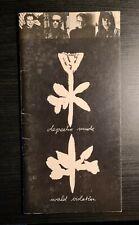 Original Depeche Mode World Violation Tour Programme 1990 Good Condition