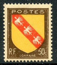 STAMP / TIMBRE FRANCE NEUF N° 757 ** ARMOIRIE LORRAINE