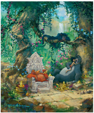 Disney Fine Art Limited Edition Canvas I Wanna Be Like You-Jungle Book-Coleman