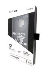 Brand New Tech 21 Evo Check Phone Case Cover For Samsung Galaxy S9- Bl