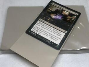 Lenayuyu 100pcs Sand color Protector Standard MTG Card Sleeves 66x91mm Matte