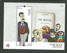 Portugal 2018 - 130 Years Os Maias first Edition S/S MNH