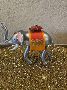 de carlini christmas ornaments Reindeer w// Baubles On Horns Handblown Italian