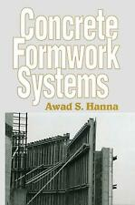 Concrete Formwork Systems by Awad S. Hanna Paperback Book Free Shipping!