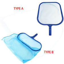 Professional Leaf Rake Mesh Frame Net Skimmer Cleaner Swimming Pool Spa Tool  T