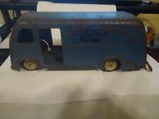 Vintage Marx Toys Cloverdale Farms Pressed Steel Metal Delivery Van Truck