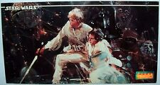 Star Wars Gary Garani 1994 Lucas Films TOPPS Wide Vision Card #1 Luke & Leia