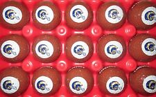 (120) LOS ANGELES CALIFORNIA RAMS NATIONAL FOOTBALL LEAGUE NFL LOGO GOLF BALLS