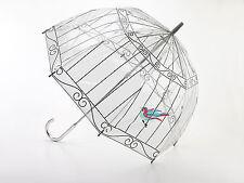 Lulu Guinness Designer Clear 'Birdcage' Birdcage Dome Umbrella - Best Seller!