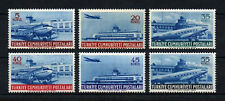 1954 TURKEY 4th AIRMAIL STAMPS PLANE FLIGHT  COMPLETE SET MNH**