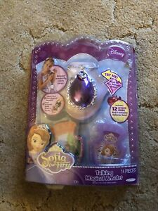 Sofia The First Talking Magical Amulet 14 Pieces 2013 New