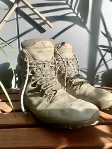 New Vivobarefoot Tracker FG Men's Dark Khaki Waterproof Leather Hiking Boot