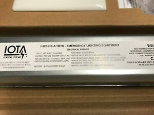 IOTA I-320-HE-A TBTS Reduced Profile CA T20 120-277V for 2′-4′ Lamps