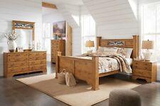 Ashley Furniture Bittersweet Queen Poster 7 Piece Bedroom Set