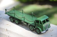 Vintage Dinky Supertoys / MIB / Foden 8-Wheel Flat Truck w/ Chains / No. 905 - 1