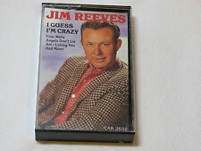 Jim Reeves I Guess I'm Crazy CAK-2652 RCA Special Products Cassette Tape