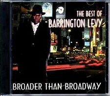 SEALED NEW CD Barrington Levy - Broader Than Broadway: Best Of