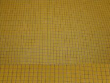 1 1/2 Yards Woven Gold and Black Check