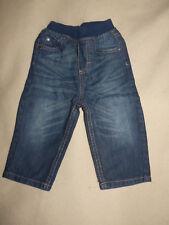 Pantalon jean bleu foncé Orchestra Baby boy bébé garçon 12 mois TBE