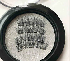 Natural 3 Magnets Magnetic Eye Lashes False Fake Eyelash Extension No need glue